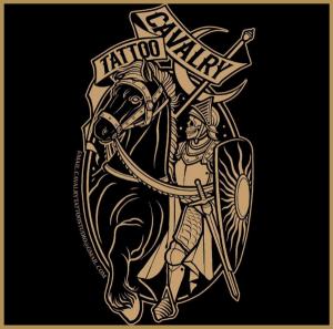 Cavalry tattoo studio logo